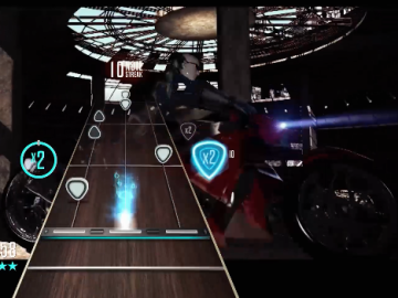 Guitar Hero Live Dangerous gameplay