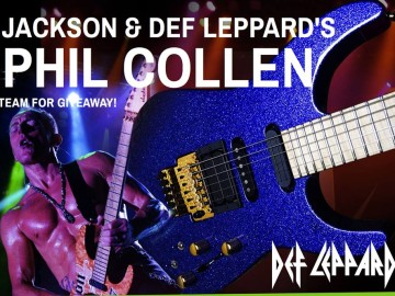 Phil Collen Jackson Guitar Contest