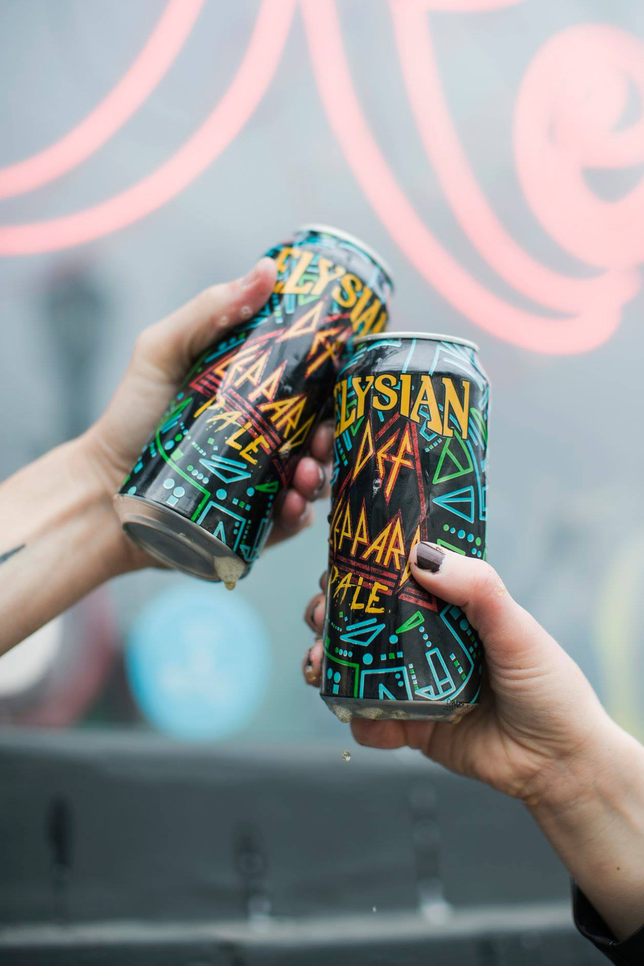 b624bc4c239 The beer can be experienced through draught or 16oz cans. The can was  designed in tribute to the 30th anniversay of Def Leppard s landmark album