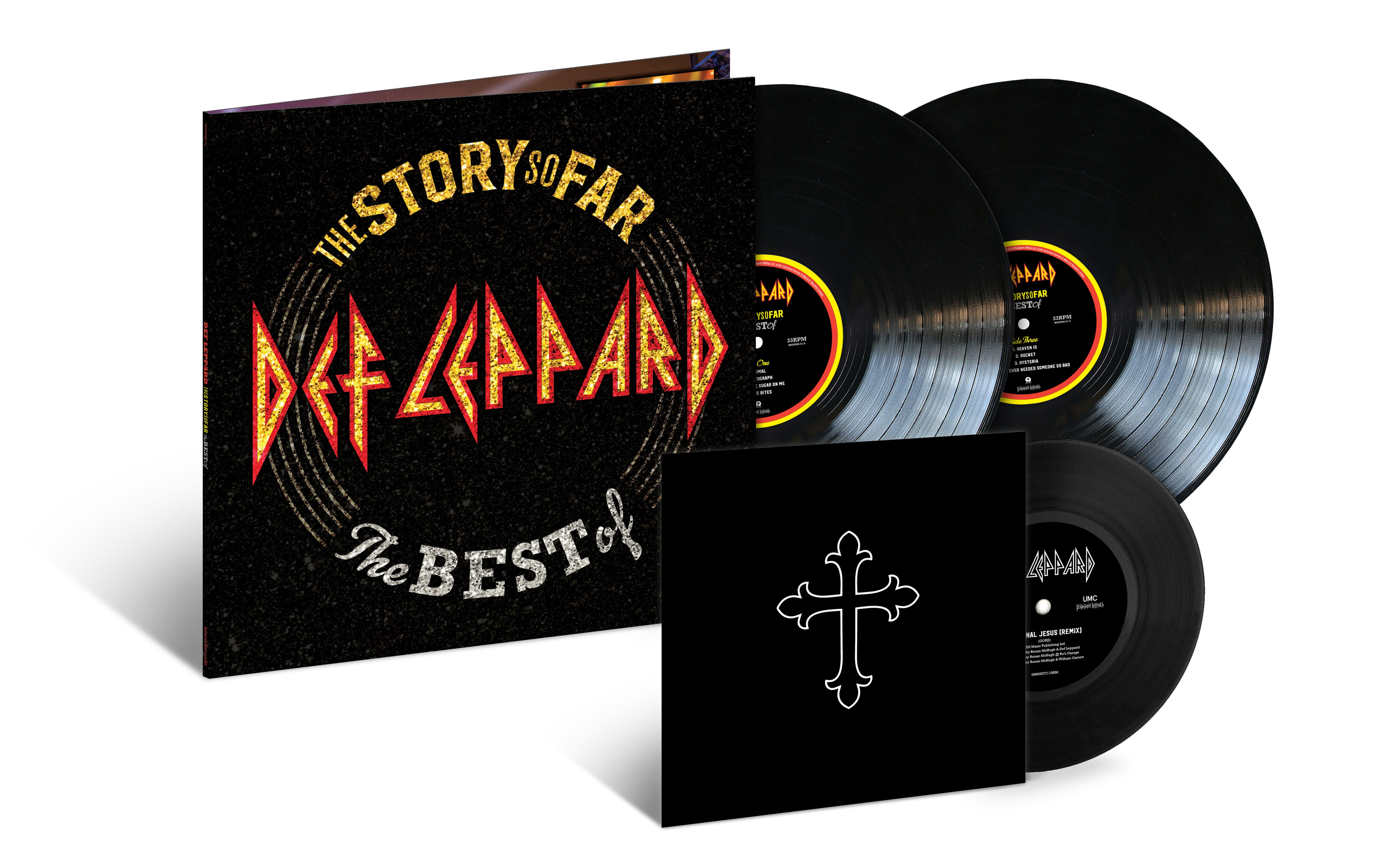 Resultado de imagem para The Story So Far – The Best Of def leppard